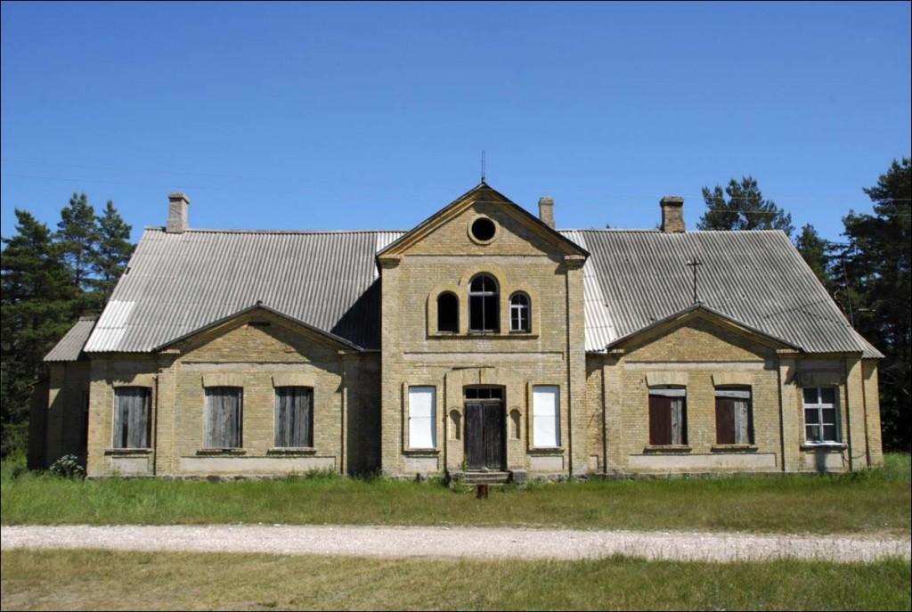 Kõpu õigeusu kirik-koolimaja  Autor M. Mõniste  Kuupäev  24.06.2006