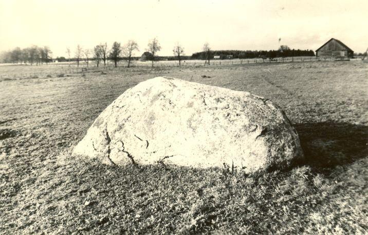 Lohukivi reg nr 10937. Foto: H. Joonuks, 1971.