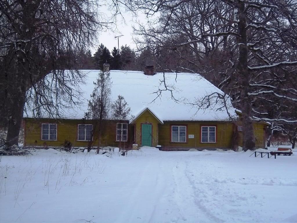 Jädivere õpetajate seminari hoone. K. Klandorf 17.02.2012