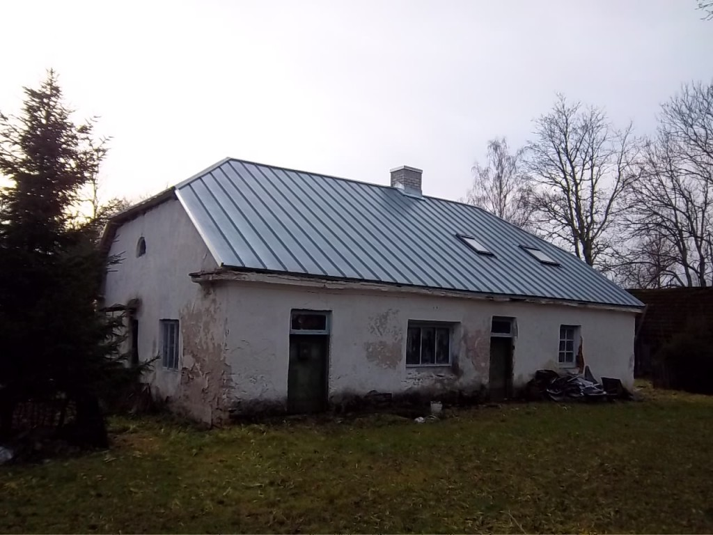 Vaimõisa mõisa teenijatemaja esikülg. K. Klandorf 29.11.2011