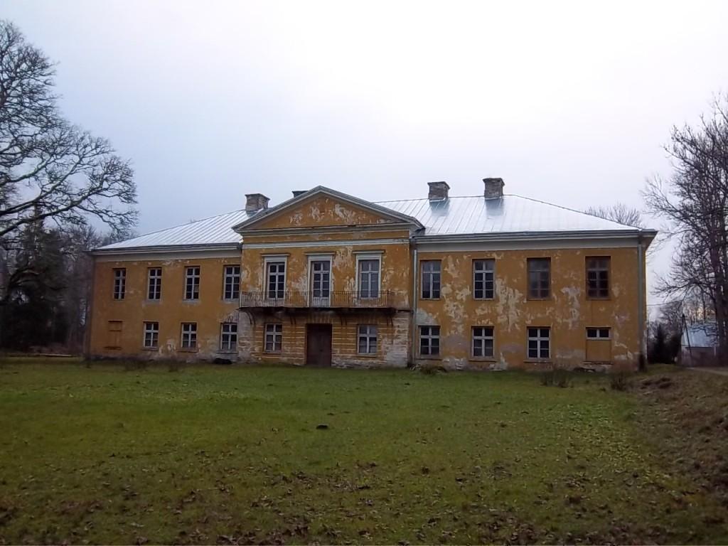Vaimõisa mõisa peahoone esikülg. K. Klandorf 29.11.2011