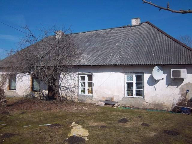 Purila mõisa möldrimaja tagakülg. K. Klandorf 12.04.2012