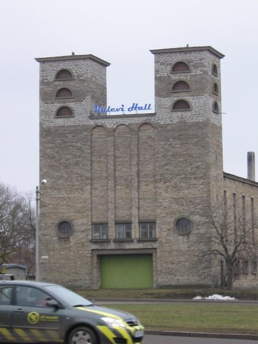 """Rakvere Pauluse kirik :reg. nr. 15734.VAADE LÃ""""Ã""""NEST, jube reklaam.  Autor ANNE KALDAM  Kuupäev  22.03.2007"""