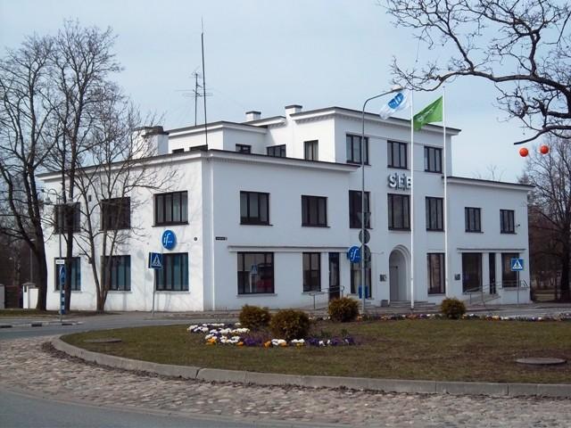 Pangahoone Raplas Tallinna mnt 12. K. Klandorf 19.04.2012