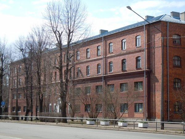 Kreenholmi elukasarm, Joala tn. 10. Foto: Madis Tuuder. 23.04.2012