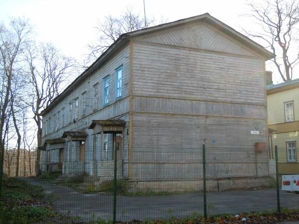 Kreenholmi meistrite vana elamu. Foto: Madis Tuuder. 10.11.2011