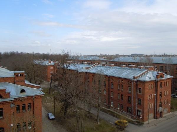 Kreenholmi elukasarmud. Foto: Madis Tuuder. 23.04.2012