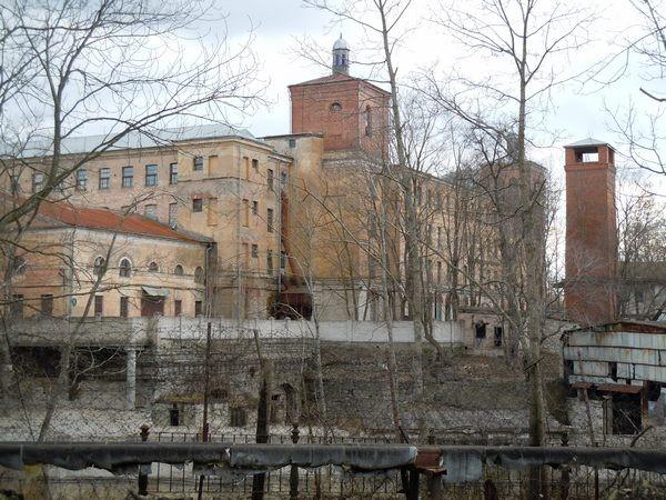Kreenholmi ketrus- ja kudumisvabriku vana hoone. Foto: Madis Tuuder. 26.04.2012