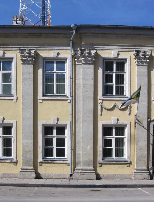 Fragment hoone fassaadist. Foto: M.Koppel 2012