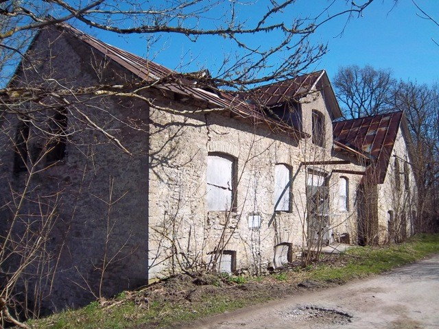 Lohu mõisa vesiveski. K. Klandorf 02.05.2012