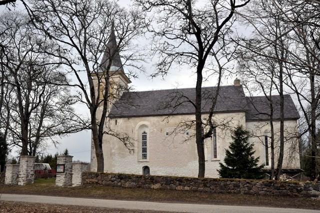 Hanila kirik. Foto: Tõnis Padu 2.04.2011