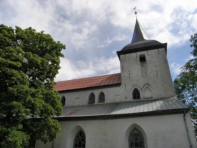 Urvaste kirik. Foto: Kais Matteus 27.06.2008