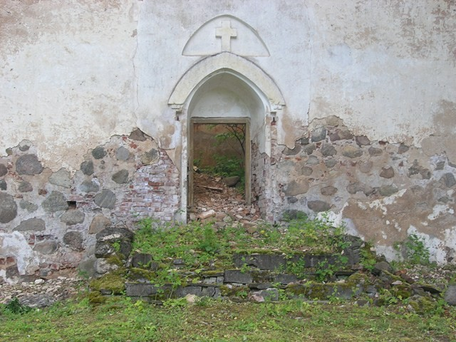 Karula kiriku varemed. Foto: Kais Matteus 2010