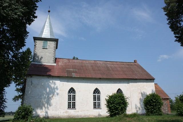 Laatre kirik. Foto: S. Sombri15.07.2010