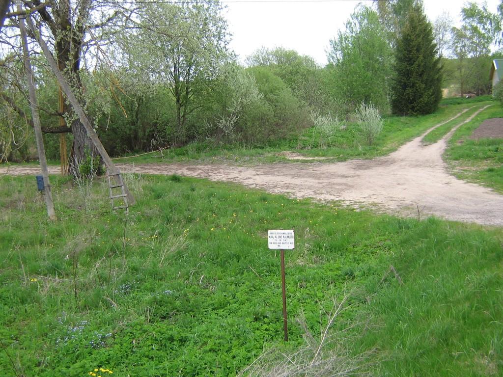 Vaade kalmistu alale Võhandu jõe lähedal. Foto: Viktor Lõhmus, 16.05.2012.