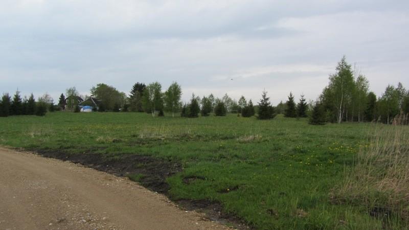 Vaade Perajärve ääres asuvale asulakohale kirdest Perajärve talu sissesõiduteelt. Foto: Karin Vimberg, 17.05.2012.