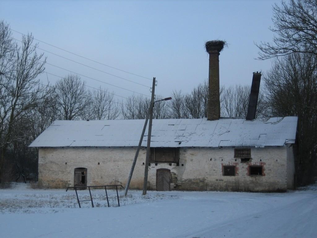 Lehola mõisa kuivati  Autor Silja Konsa  Kuupäev  12.01.2007