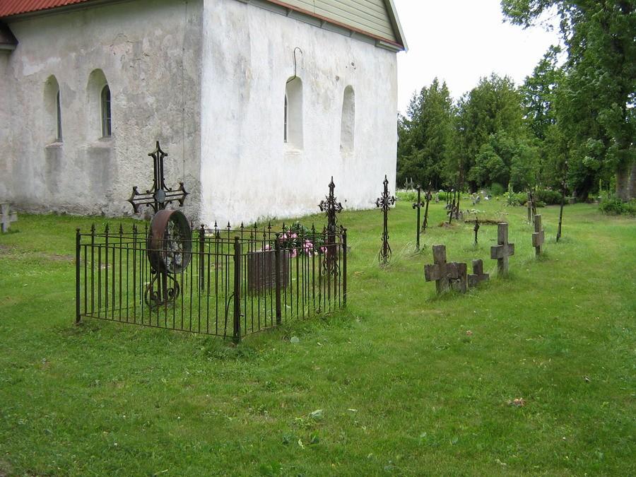 Kirikuaed  Autor Kalli Pets  Kuupäev  27.06.2007