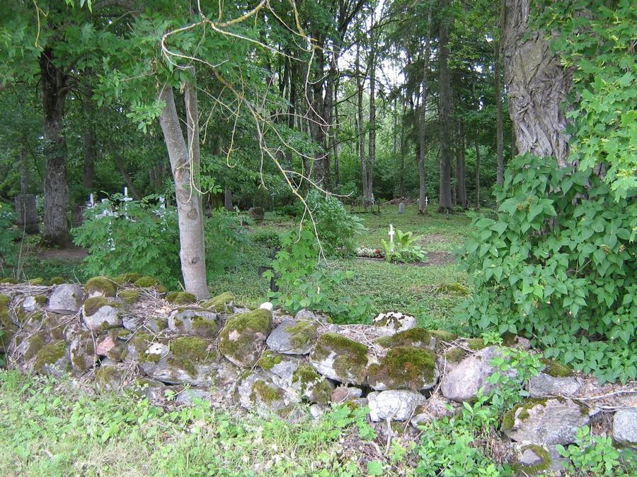 Vaade kalmistule  Autor Kalli Pets  Kuupäev  29.06.2007