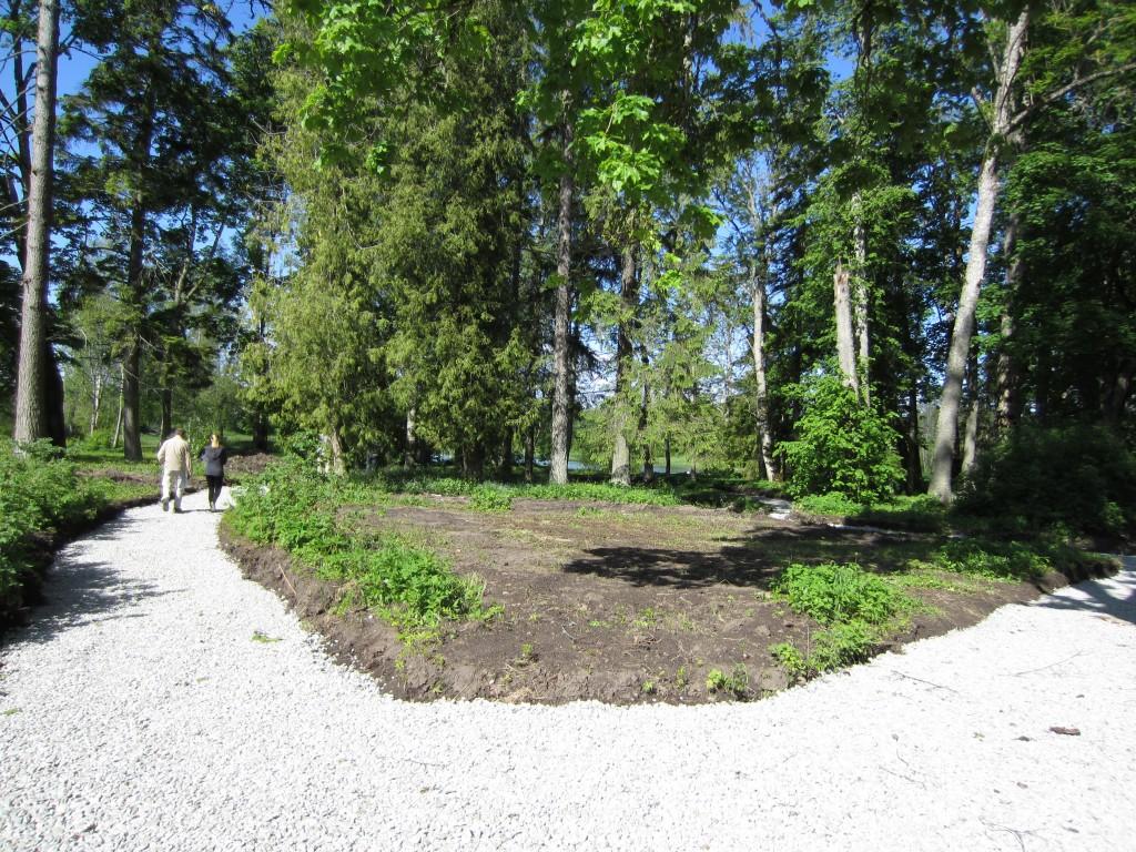 16080 Kiltsi mõisa park, käivad pargi tööde I etepp. 05.06.2012. Anne Kaldam