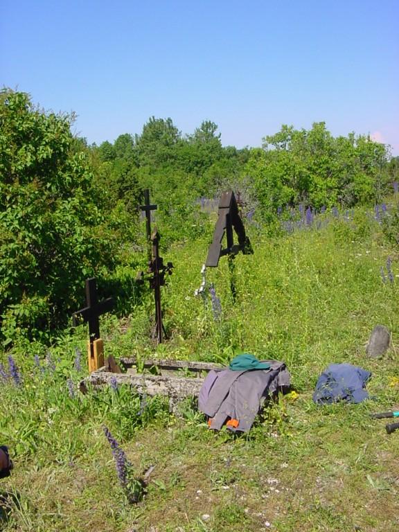 Väike-Pakri kalmistu  Autor Peeter Nork  Kuupäev  02.07.2007