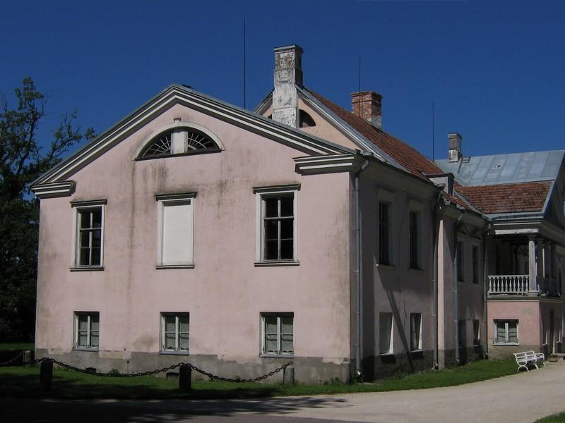 Vihula mõisa peahoone : 15952 vaade lõunast  Autor Anne Kaldam  Kuupäev  05.07.2007