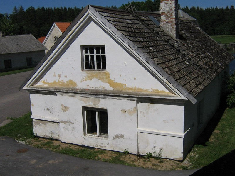 Vihula mõisa pesuköök: 15965, vaade lõunast  Autor ANNE KALDAM  Kuupäev  05.07.2007