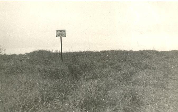 Maa-alune kalmistu. Foto: H. Heinlo, 1986 november.