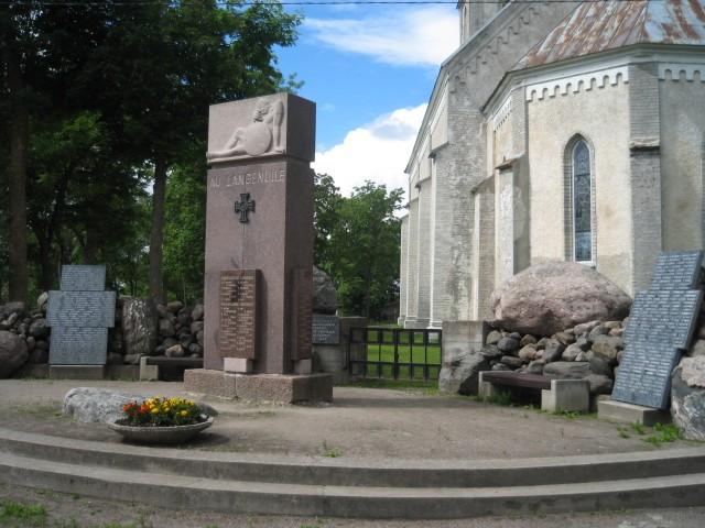 Riisipere vabadussõja mälestussammas  Autor Peeter Nork  Kuupäev  13.07.2007