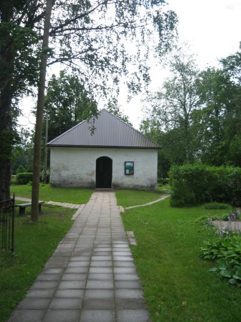 Nissi kalmistu kabel  Autor Peeter Nork  Kuupäev  13.07.2007