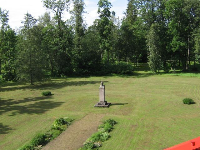 Muuga mõisa park :15706. vaade katuselt  Autor ANNE KALDAM  Kuupäev  12.07.2007
