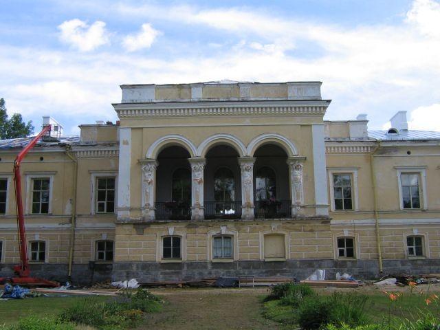 Muuga mõisa peahoone : 15705 vaade  Autor ANNE KALDAM  Kuupäev  12.07.2007