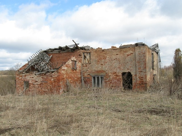 Vana-Roosa mõisa aidamehe maja. Foto Tõnis Taavet, 18.04.2012.