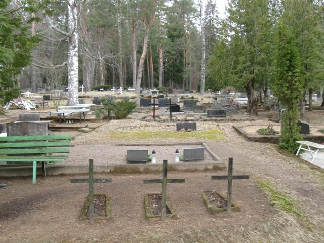 Vana-Roosa kalmistu. Foto Tõnis Taavet, 18.04.2012.