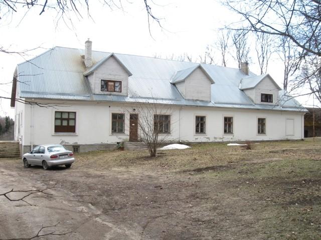 Vastseliina pastoraadi peahoone. Foto Tõnis Taavet, 18.04.2012.
