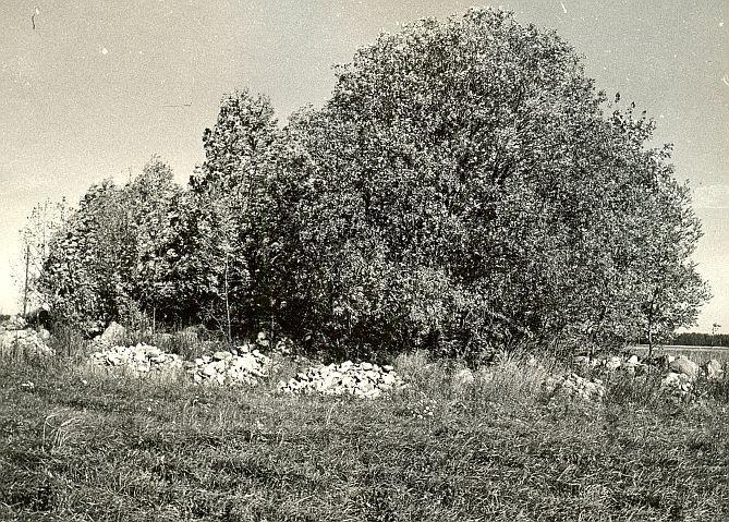 Kivikalme - läänest, E. Väljal, 2.okt.1985