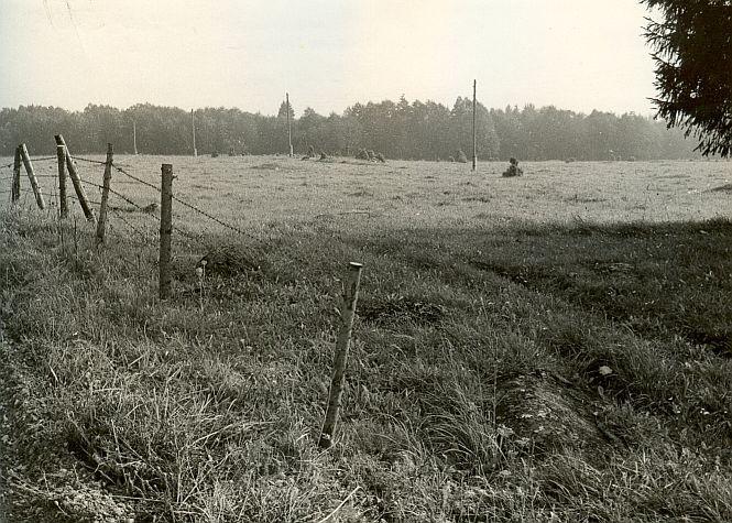 Muistsete põldude jäänused - läänest. Foto: E. Väljal.