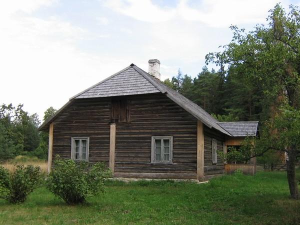 uustalu elumaja reg.nr.15878, vaade edelast  Autor Anne Kaldam  Kuupäev  18.08.2007