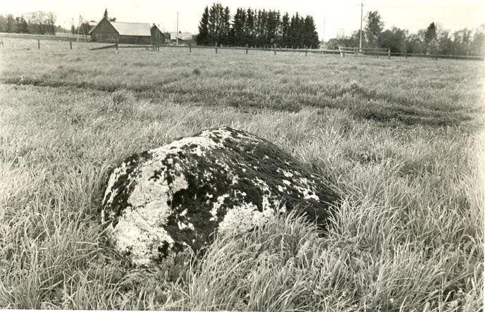 Kultusekivi, A. Sillasoo, mai 1977