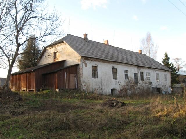 Sänna mõisa ait-kuivati, 19 saj. Foto Tõnis Taavet, 15.11.2011.