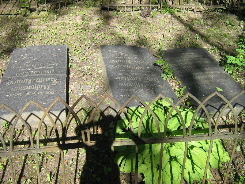 Duntenite hauaplaadid Papi kalmistul Foto 21.06.2012 Anne Kivi
