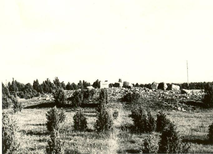 Kivikalmed 18218-18220, H. Joonuks, 1976