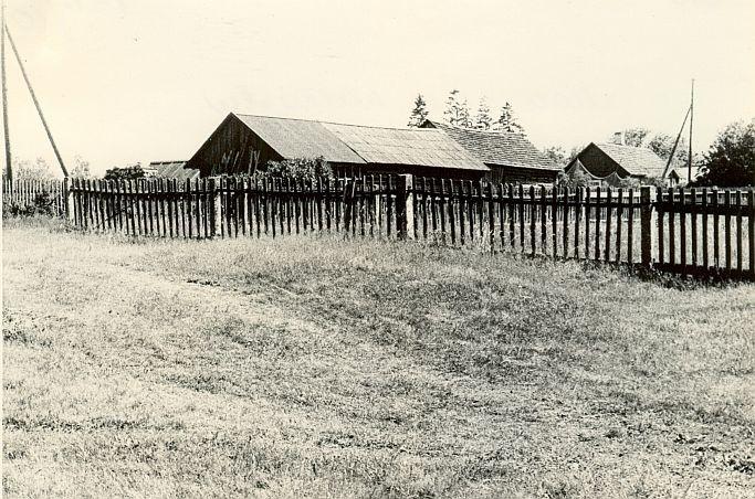 Maa-alune kalmistu - põhjast. Foto: H. Joonuks, 1970ndad aastad.