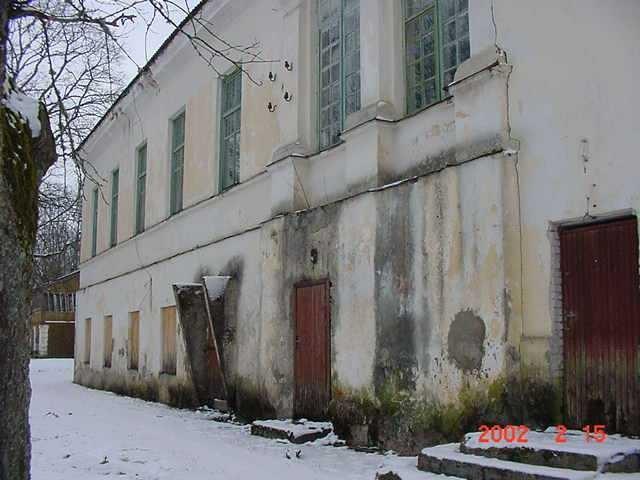 Vana-Antsla mõisa peahoone, 15.02.2002.