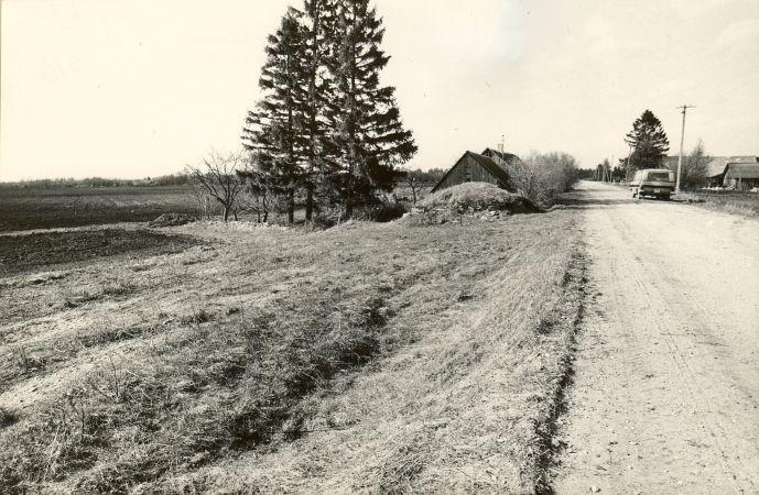 Maa-alune kalmistu - kagust. Foto: M. Pakler, 06.05.1987.