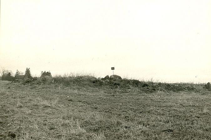 Kivikalme - põhjast, O. Multer, apr.1986