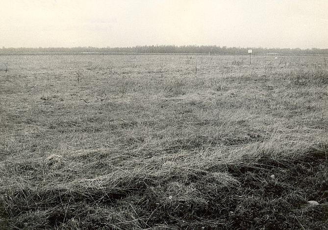 Asulakoht - lõunast, E. Väljal, mai 1987