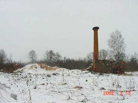 Vana-Antsla mõisa rehi, 19 saj. II pool. 15.02.2002.