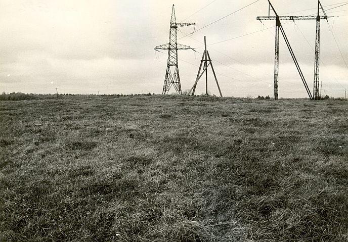 Kivikalme - kagust. Foto: E. Väljal, 25.10.1985.
