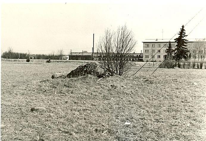 Kultusekivi, A. Sillasoo, kevad 1976